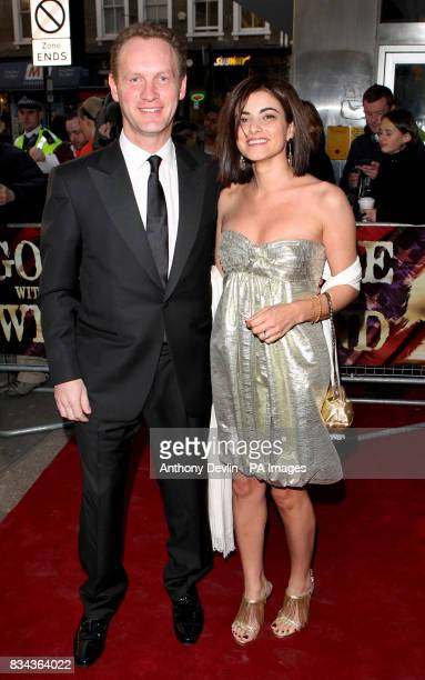 Producer Colin Ingram attends the opening night of Gone With the Wind at the New London Theatre on Drury Lane London