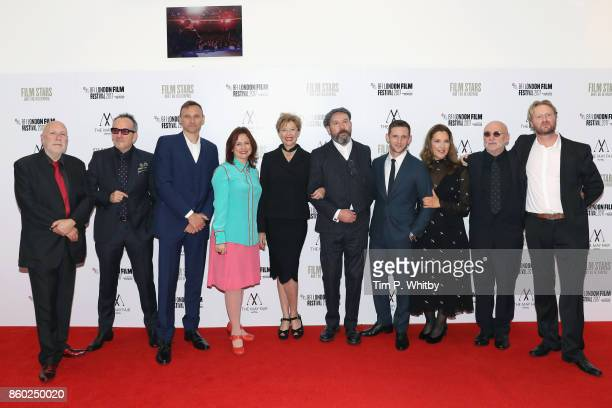 Producer Colin Vaines Elvis Costello a guest BFI festival director Clare Stewart Annette Bening director Paul McGuigan Jamie Bell producer Barbara...