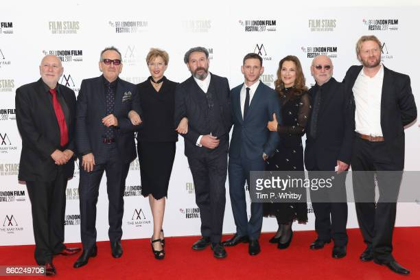 Producer Colin Vaines Elvis Costello Annette Bening director Paul McGuigan Jamie Bell producer Barbara Broccoli Peter Turner and Matt Greenhalgh...