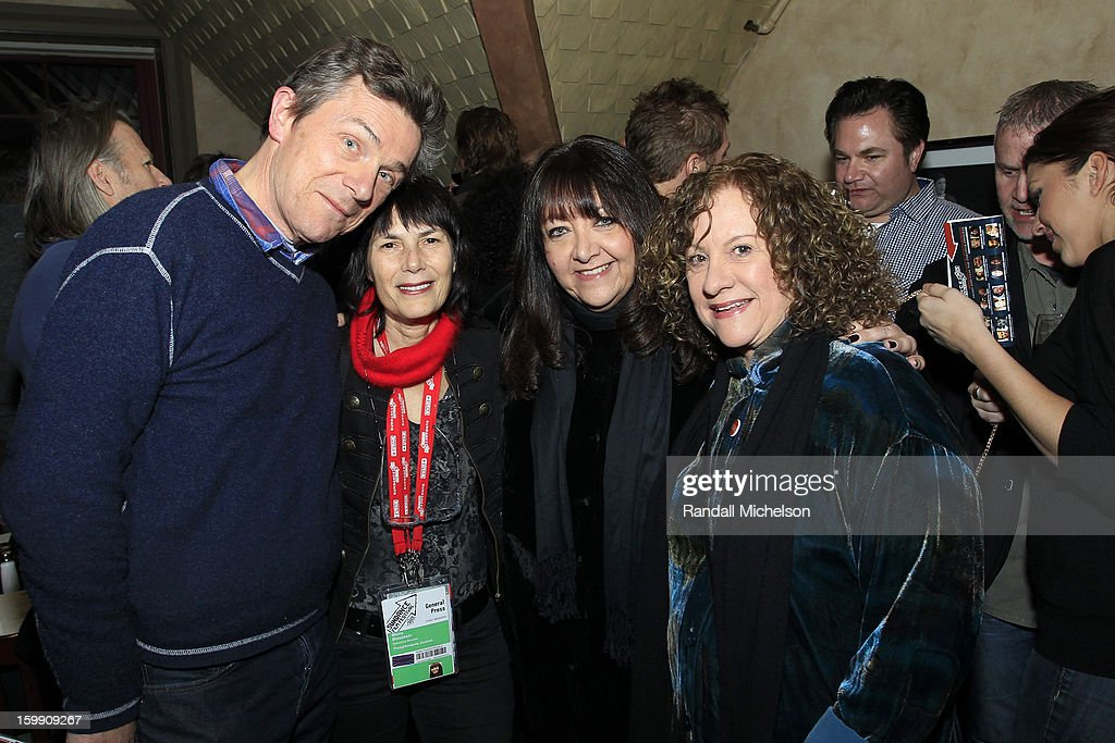 Producer Cotty Chubb, Journalist Meira Blaustein, BMI Executive Doreen Ringer-Ross and Producer Linda Livingston attend the BMI Sundance Dinner at Zoom Restaurant on January 22, 2013 in Park City, Utah.
