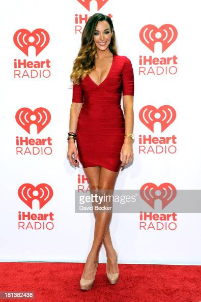 Producer Courtney Bingham attends the iHeartRadio Music Festival at the MGM Grand Garden Arena on September 20 2013 in Las Vegas Nevada