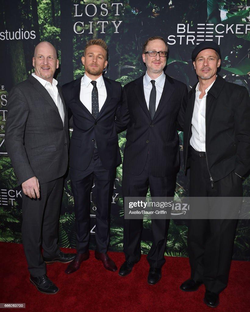 "Premiere Of Amazon Studios' ""The Lost City Of Z"""