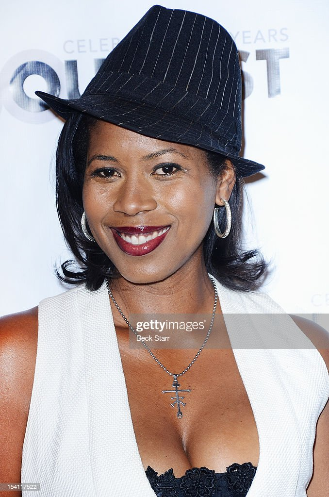 Producer Dalila Ali Rajah arrives at the 2012 Outfest Legacy Awards at Orpheum Theatre on October 13, 2012 in Los Angeles, California.