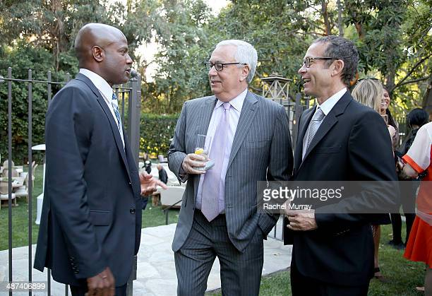 Producer Damon Lee Michael Rubel CAA Managing Partner and Richard Lovett CAA President attend Communities In Schools of Los Angeles Gala 2014...