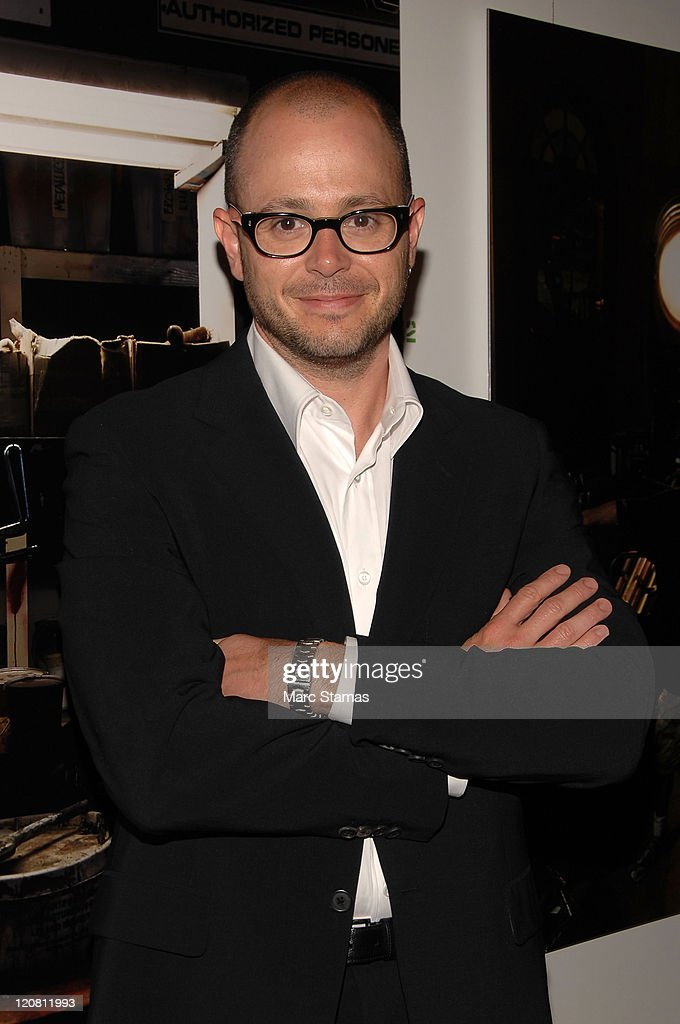 Producer Damon Lindelof attends the opening of the Vilcek Foundation's exhibition of