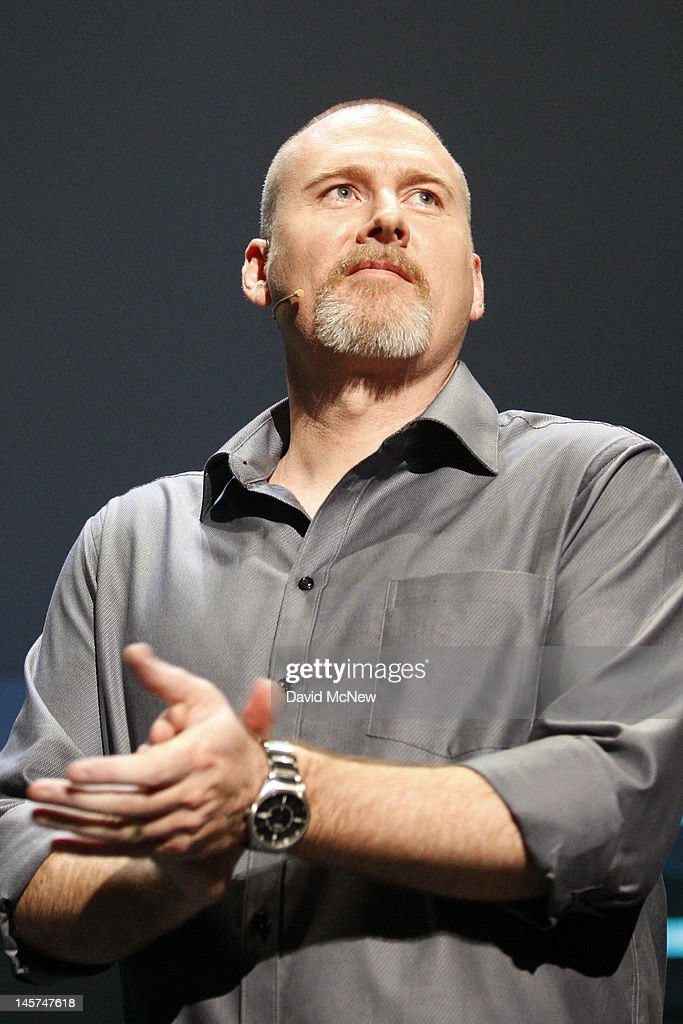 Producer Dan Hay demonstrates the violent game Far Cry 3 at the Ubisoft press conference on the eve of the Electronic Entertainment Expo (E3) on June 4, 2012 in Los Angeles, California. E3 is the most important yearly trade show the $78.5 billion videogame industry.