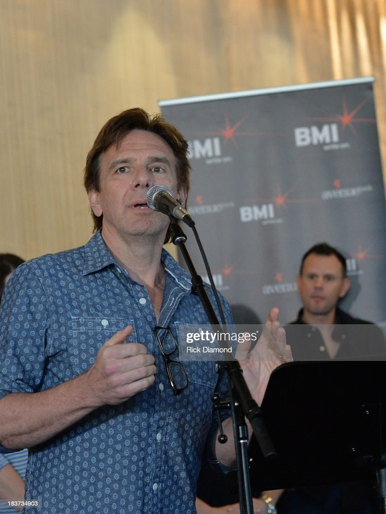 Producer Dan Huff celebrates along with BMI and Hunter Hayes the No. 1 Song 'I Want Crazy' at BMI offices In Nashville on October 8, 2013 in Nashville, Tennessee.