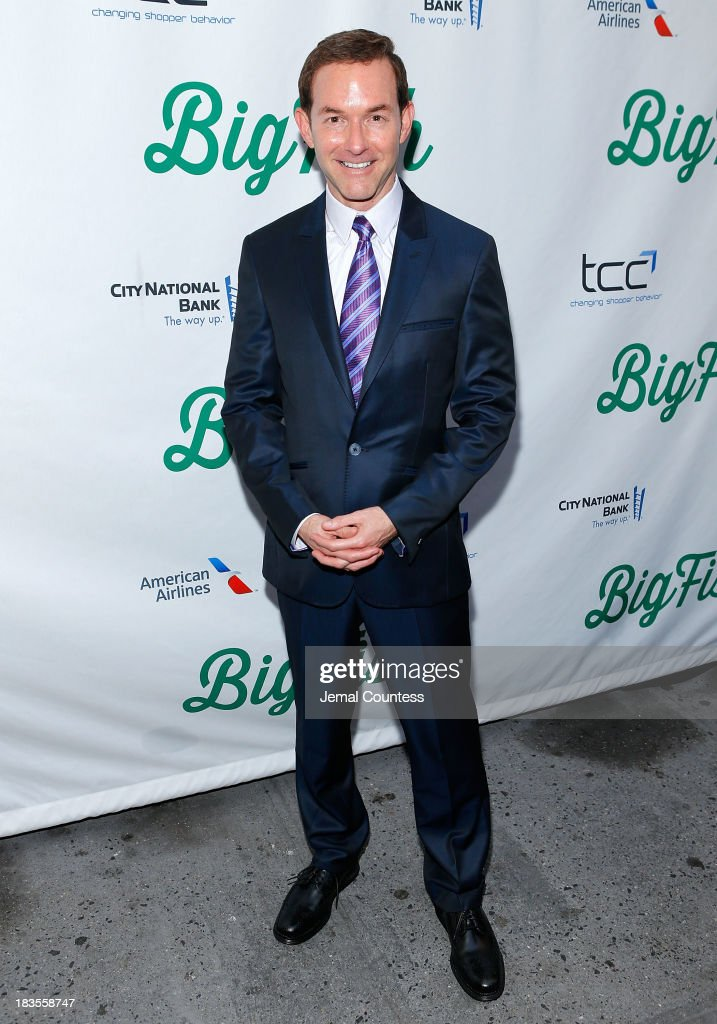 Producer Dan Jinks attends the Broadway opening night of 'Big Fish' at Neil Simon Theatre on October 6, 2013 in New York City.