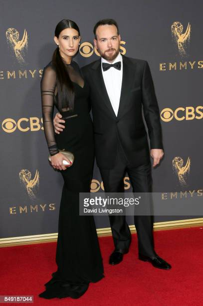 Producer Dana Brunetti and Alexandra Pakzad attend the 69th Annual Primetime Emmy Awards Arrivals at Microsoft Theater on September 17 2017 in Los...