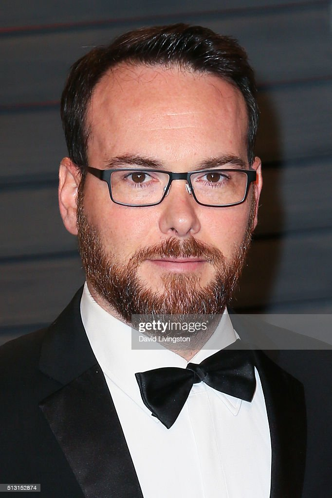 Producer Dana Brunetti arrives at the 2016 Vanity Fair Oscar Party Hosted by Graydon Carter at the Wallis Annenberg Center for the Performing Arts on February 28, 2016 in Beverly Hills, California.