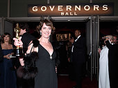 Producer Dana Perry winner of the Best Documentary Short Award for 'Crisis Hotline Veterans Press 1' attends the 87th Annual Academy Awards Governors...
