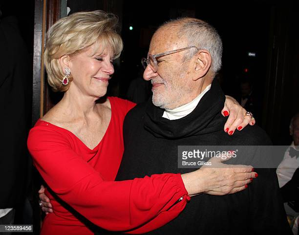 Producer Daryl Roth and Playwright Larry Kramer attend 'The Normal Heart' After Party for The 2011 Tony Awards at the Amsterdam Ale House on June 12...