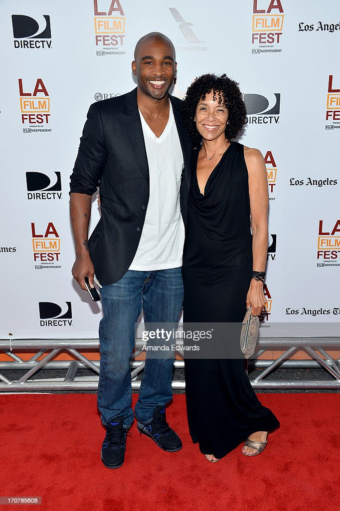 Producer Datari Turner (L) and Los Angeles Film Festival director Stephanie Allain attend the 'Fruitvale Station' premiere during the 2013 Los Angeles Film Festival at Regal Cinemas L.A. Live on June 17, 2013 in Los Angeles, California.