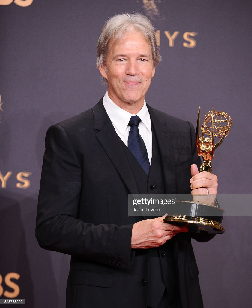 Producer David E. Kelley poses in the press room at the 69th annual Primetime Emmy Awards at Microsoft Theater on September 17, 2017 in Los Angeles, California.