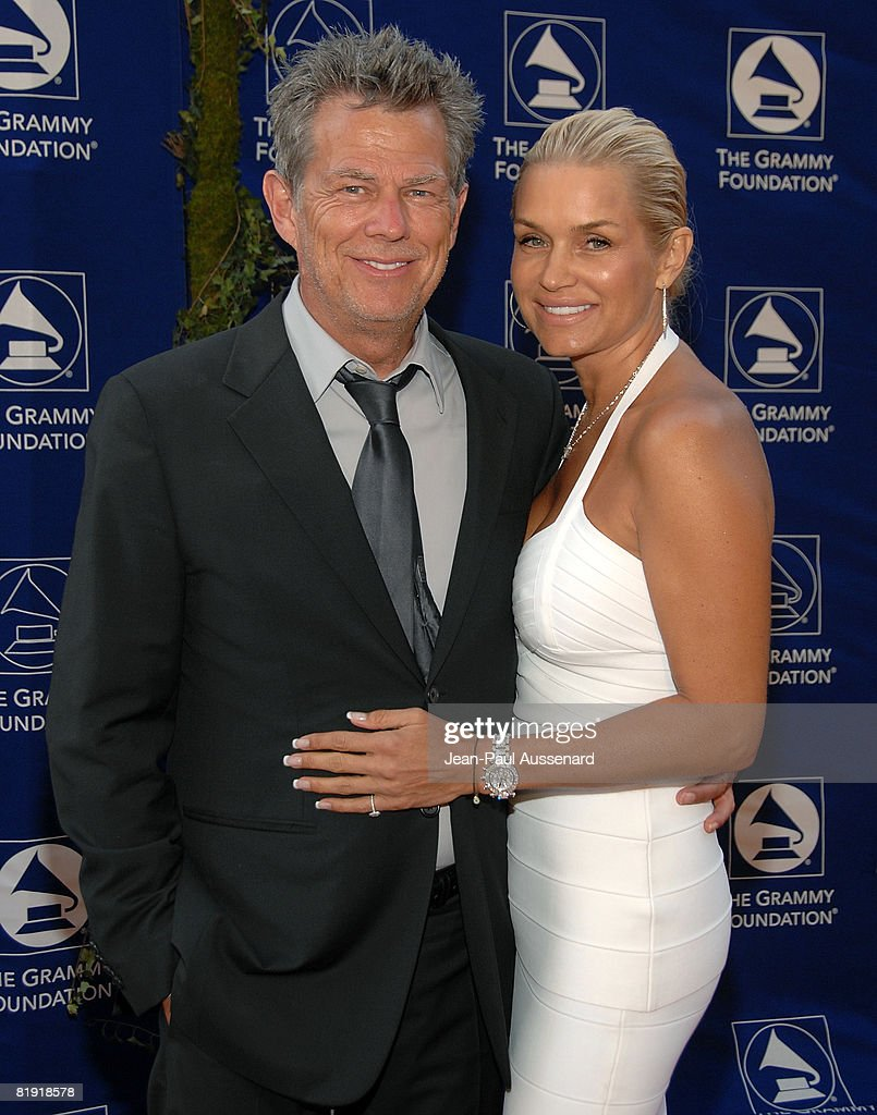Producer David Foster and guest arrive at the GRAMMY Foundation Starry Night held at the University of Southern California on July 12th, 2008 in Los Angeles, California.