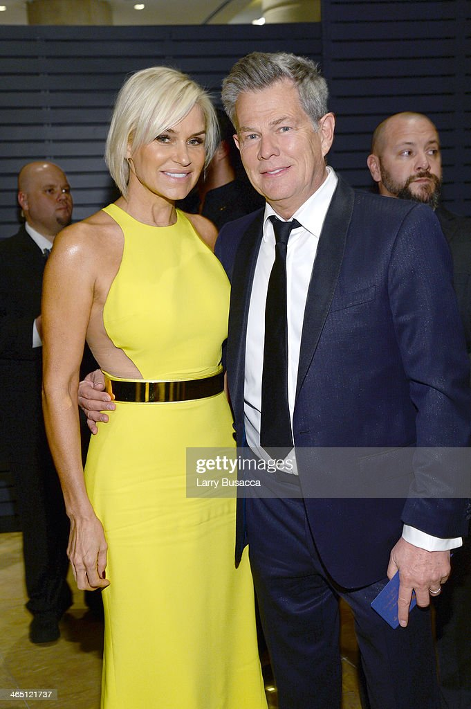 Producer David Foster (R) and Yolanda Foster attends the 56th annual GRAMMY Awards Pre-GRAMMY Gala and Salute to Industry Icons honoring Lucian Grainge at The Beverly Hilton on January 25, 2014 in Beverly Hills, California.
