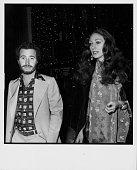 Producer David Geffen and actress Marisa Berenson at the Golden Apple Awards Beverly Hills Hotel December 1975