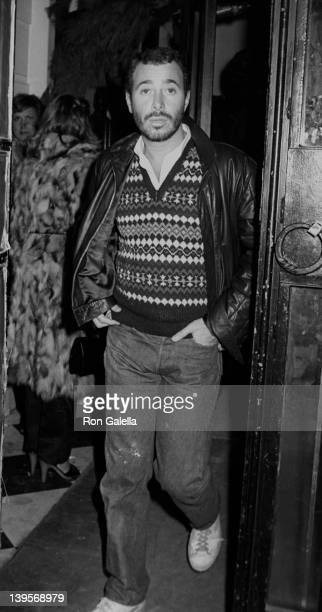 Producer David Geffen attends Woody Allen's New Year's Eve Party on December 31 1979 at Harkness House in New York City