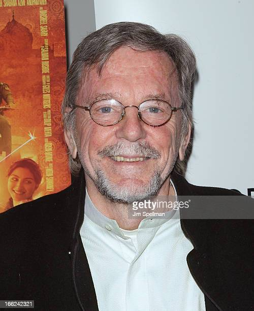 Producer David Hamilton attends the 'Midnight's Children' New York Premiere at The Academy Theater on April 10 2013 in New York City
