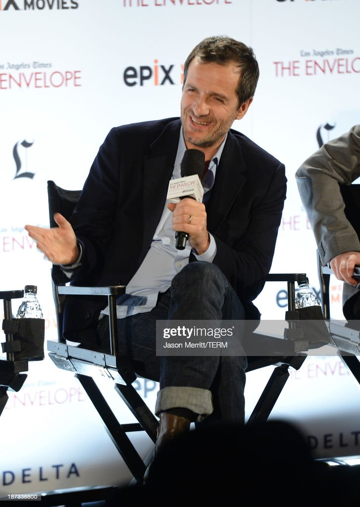 Producer David Hayma attends the L.A. Times Envelope Screening Series and Q&A of 'Gravity' at ArcLight Sherman Oaks on November 7, 2013 in Sherman Oaks, California.