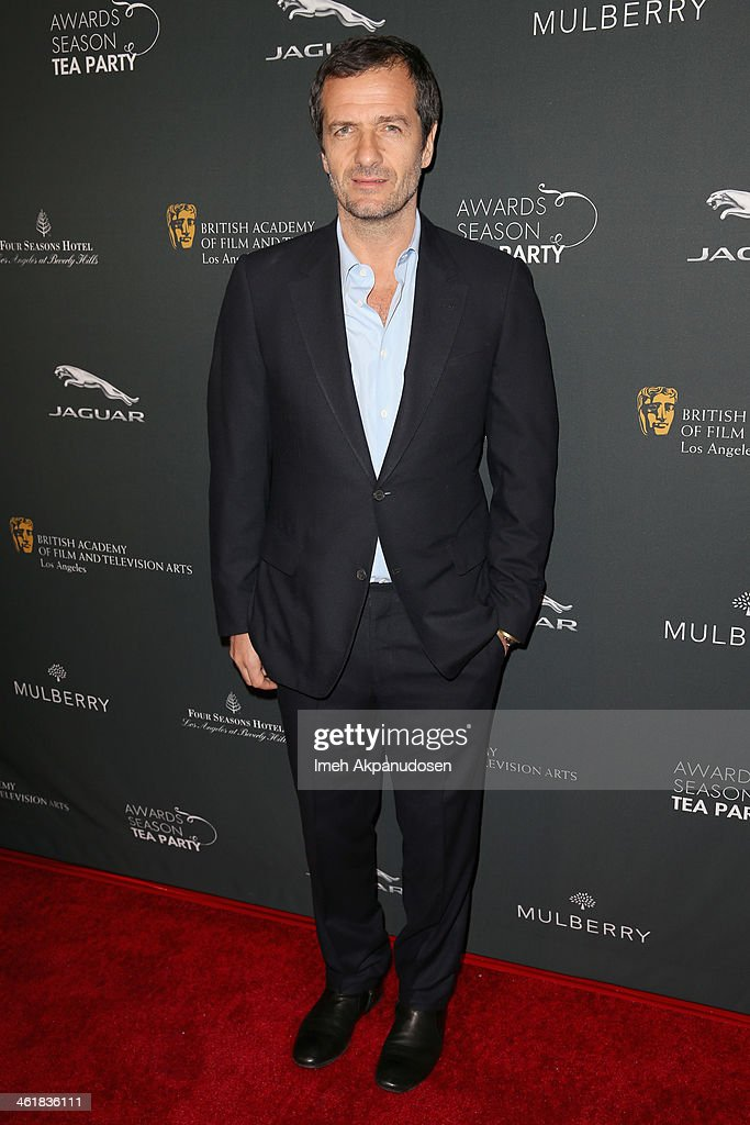 Producer <a gi-track='captionPersonalityLinkClicked' href=/galleries/search?phrase=David+Heyman&family=editorial&specificpeople=810485 ng-click='$event.stopPropagation()'>David Heyman</a> attends the BAFTA LA 2014 Awards Season Tea Party at the Four Seasons Hotel Los Angeles at Beverly Hills on January 11, 2014 in Beverly Hills, California.