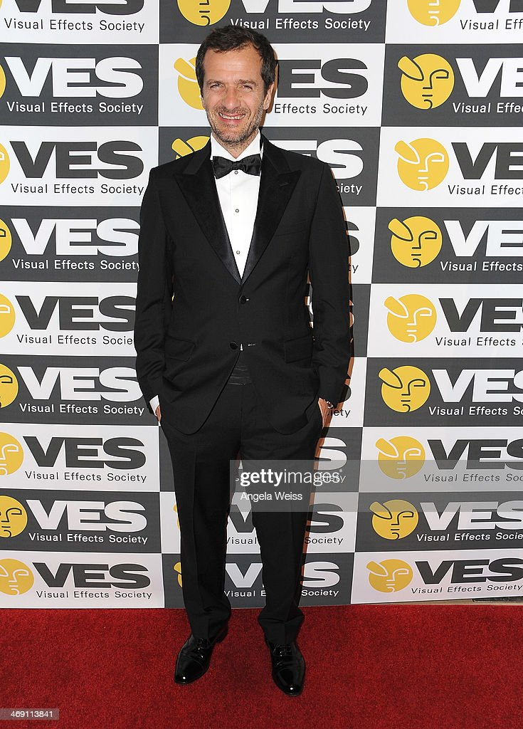 Producer <a gi-track='captionPersonalityLinkClicked' href=/galleries/search?phrase=David+Heyman&family=editorial&specificpeople=810485 ng-click='$event.stopPropagation()'>David Heyman</a> attends the Visual Effects Society's 12th Annual VES Awards at The Beverly Hilton Hotel on February 12, 2014 in Beverly Hills, California.