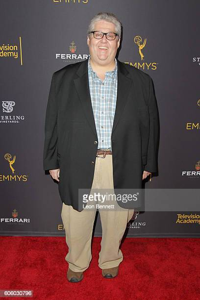 Producer David Mandel arrived at the Television Academy Hosts Reception For EmmyNominated Producers Arrivals at Montage Beverly Hills on September 15...