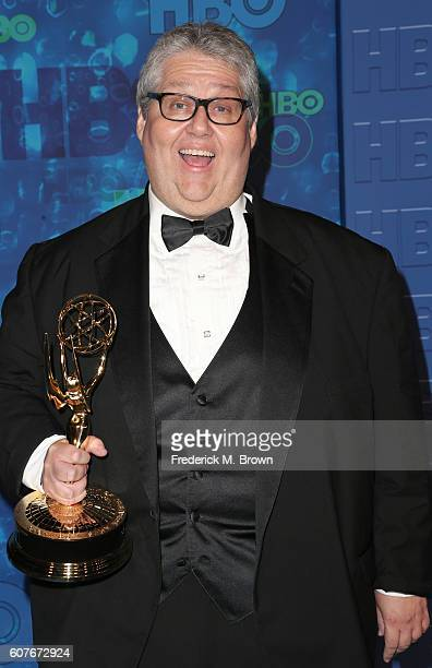 Producer David Mandel attends HBO's Official 2016 Emmy After Party at The Plaza at the Pacific Design Center on September 18 2016 in Los Angeles...
