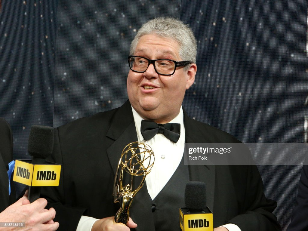 Producer David Mandel, winner of the award for Outstanding Comedy Series for 'Veep,' attends IMDb LIVE After the Emmys at Microsoft Theater on September 17, 2017 in Los Angeles, California.