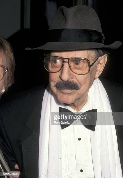 Producer David Merrick attends the 50th Annual Tony Awards on June 2 1996 at the Majestic Theatre in New York City