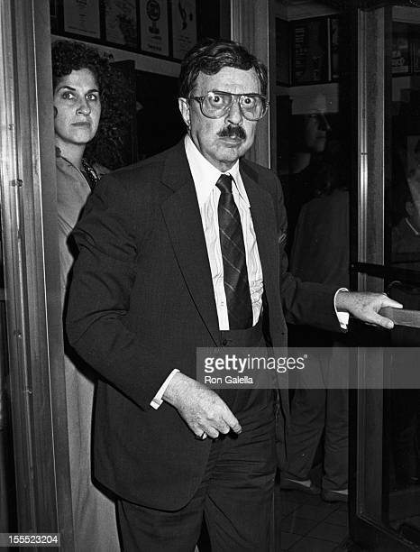 Producer David Merrick attends the performance of Steel Magnolias on September 30 1987 at the Lucille Lortel Theater in New York City