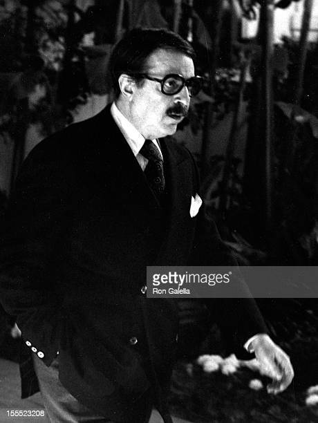Producer David Merrick sighted on February 28 1977 at the Beverly Hills Hotel in Beverly Hills California