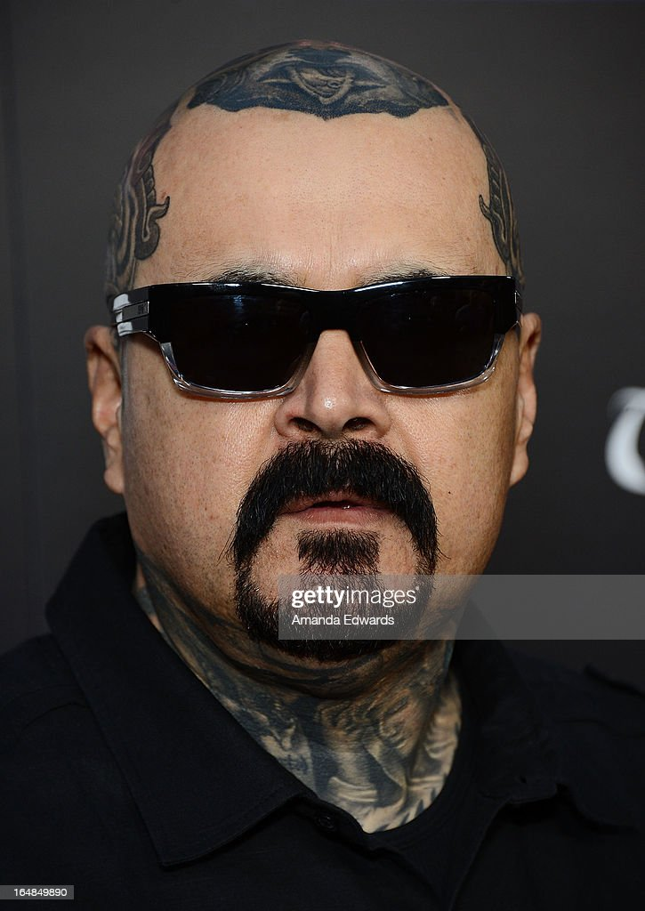 Producer David Oropeza arrives at the premiere of 'Tattoo Nation' at ArcLight Cinemas on March 28, 2013 in Hollywood, California.