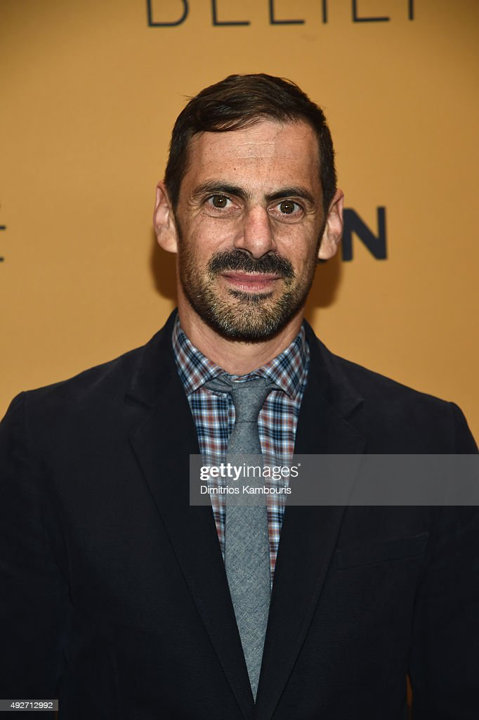 Producer David Shadrack Smith attends the 'Belief' New York premiere at TheTimesCenter on October 14, 2015 in New York City.