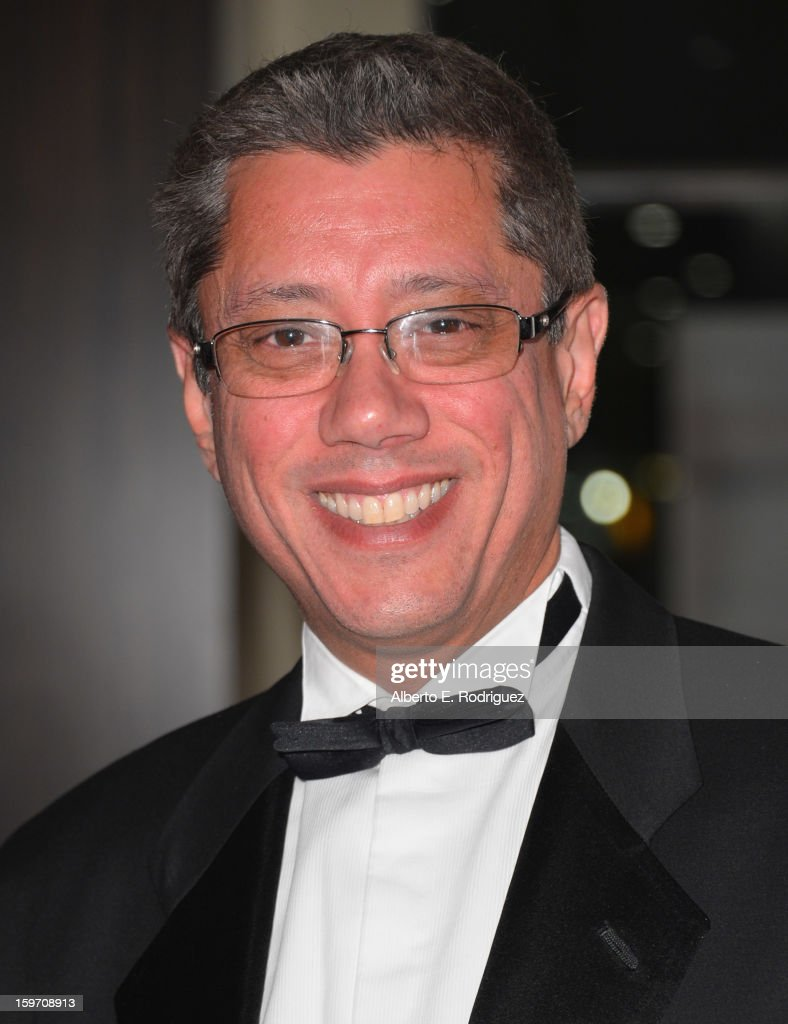 Producer <a gi-track='captionPersonalityLinkClicked' href=/galleries/search?phrase=Dean+Devlin&family=editorial&specificpeople=540462 ng-click='$event.stopPropagation()'>Dean Devlin</a> arrives to the 10th Annual Living Legends of Aviation Awards at The Beverly Hilton Hotel on January 18, 2013 in Beverly Hills, California.