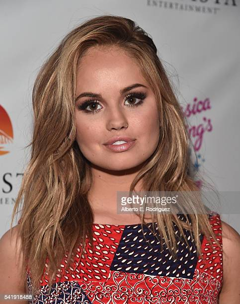 Producer Debby Ryan attends the premiere of Marvista Entertainment's 'Jessica Darling's It List' at the Landmark Theater on June 20 2016 in Los...
