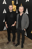 Producer Den Tolmor and director Evgeny Afineevsky attend the 88th annual Academy Awards Oscar Week celebrates Documentaries at AMPAS Samuel Goldwyn...