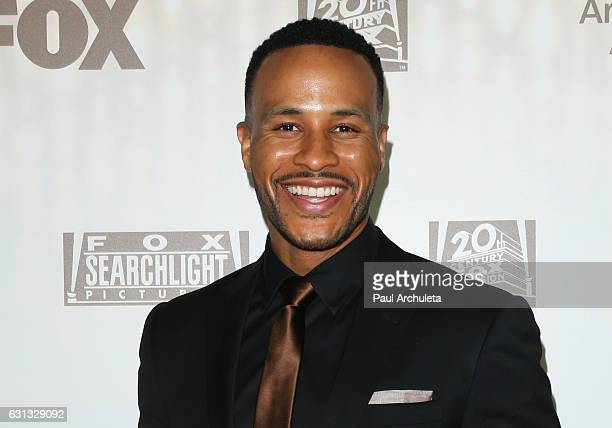 Producer DeVon Franklin attends the FOX and FX's 2017 Golden Globe Awards After Party at The Beverly Hilton Hotel on January 8 2017 in Beverly Hills...
