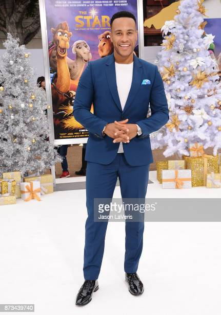 Producer DeVon Franklin attends the premiere of 'The Star' at Regency Village Theatre on November 12 2017 in Westwood California