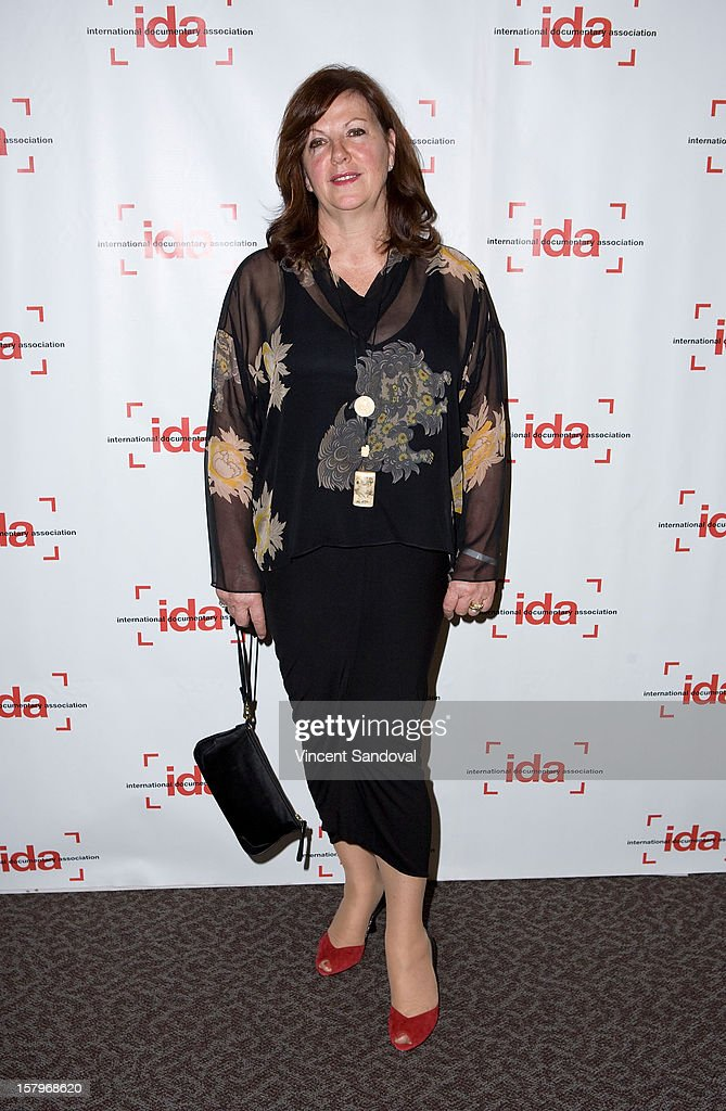 Producer Diane Estelle Vicari attends the 2012 IDA Documentary Awards at Directors Guild Of America on December 7, 2012 in Los Angeles, California.