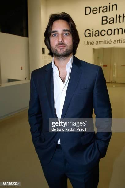 Producer Dimitri Rassam attends the 'Societe des Amis du Musee d'Art Moderne de la Ville de Paris' Dinner on October 17 2017 in Paris France