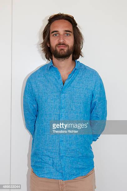 Producer Dimitri Rassam poses during a portrait session on May 15 2015 on CannesFrance