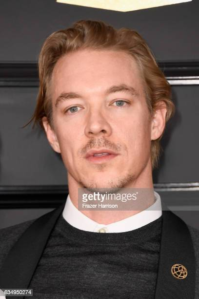 Producer Diplo attends The 59th GRAMMY Awards at STAPLES Center on February 12 2017 in Los Angeles California