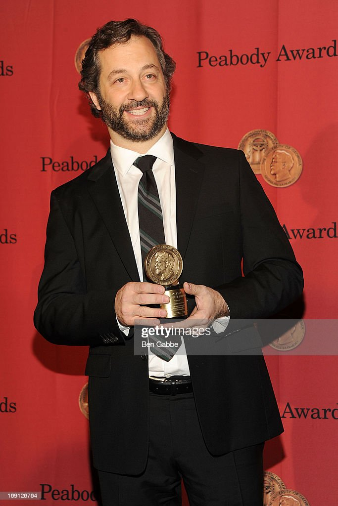 Producer, director and screenwriter <a gi-track='captionPersonalityLinkClicked' href=/galleries/search?phrase=Judd+Apatow&family=editorial&specificpeople=854225 ng-click='$event.stopPropagation()'>Judd Apatow</a> attends 72nd Annual George Foster Peabody Awards at The Waldorf=Astoria on May 20, 2013 in New York City.