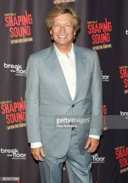Producer / Director Nigel Lythgoe attends the opening night of 'Shaping Sound After The Curtain' at Royce Hall on June 27 2017 in Los Angeles...