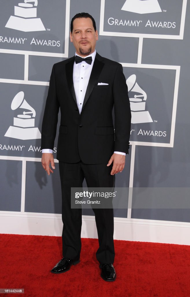 Producer DJ Lynwood attends the 55th Annual GRAMMY Awards at STAPLES Center on February 10, 2013 in Los Angeles, California.