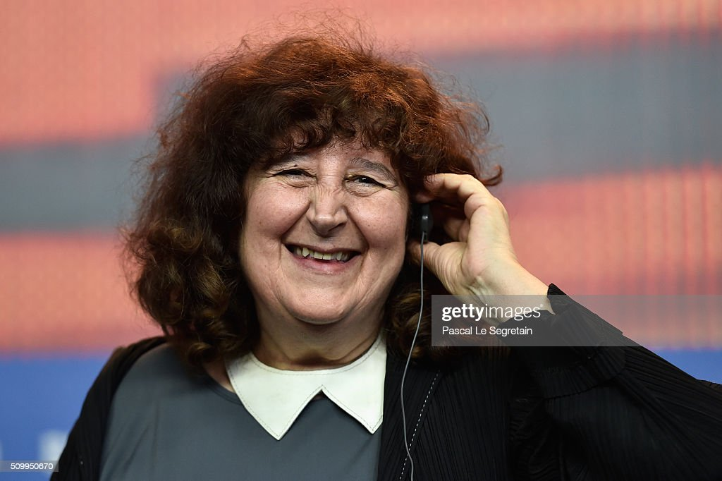 Producer Donatella Palermo the 'Fire at Sea' (Fuocoammare) press conference during the 66th Berlinale International Film Festival Berlin at Grand Hyatt Hotel on February 13, 2016 in Berlin, Germany.
