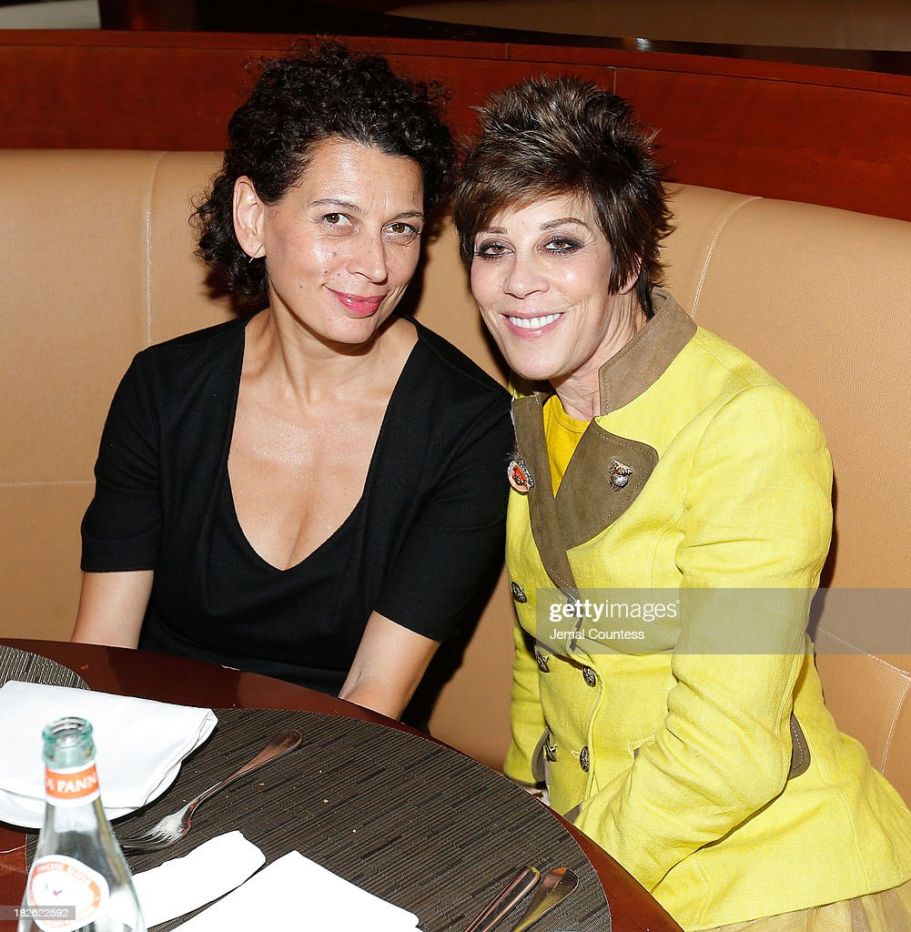 Producer Donna Langley and Peggy Siegal attend the after party for the 'About Time' & 'Jimmy