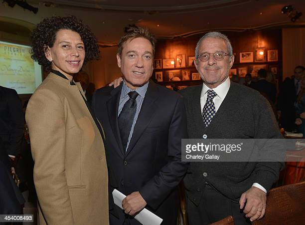 Producer Donna Langley CAA Managing Partner Kevin Huvane and ViceChairman of NBCUniversal Ron Meyer attends the March of Dimes Celebration of Babies...