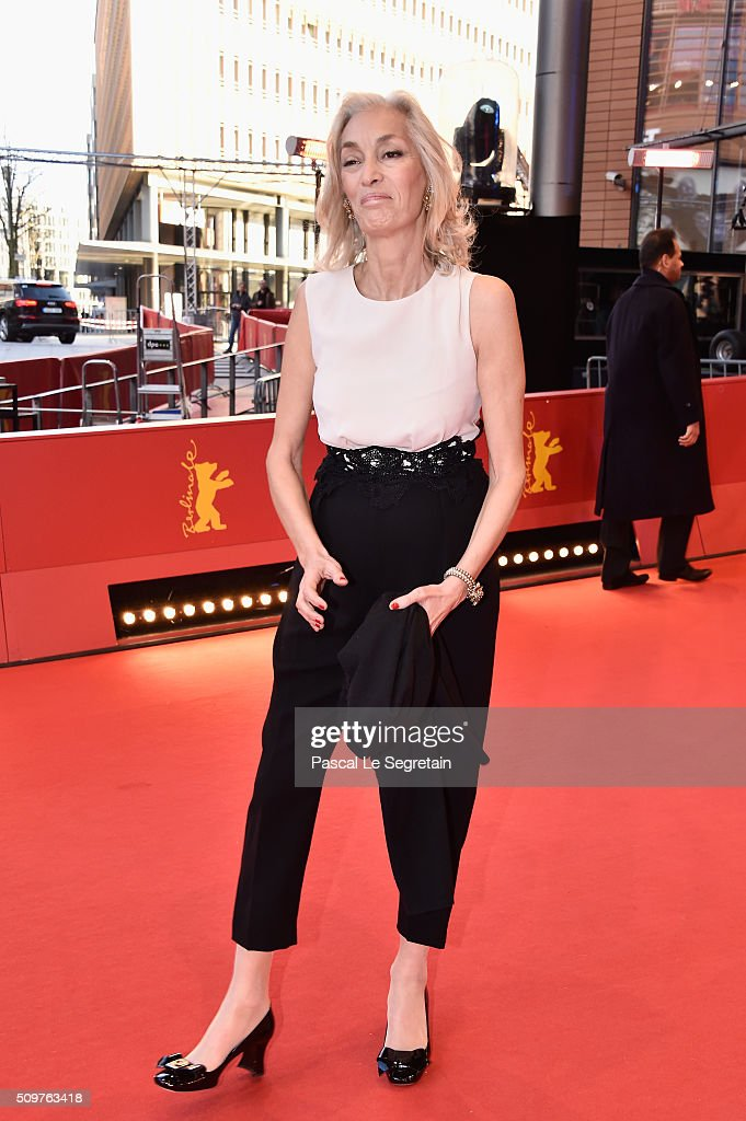 Producer Dora Bouchoucha Fourati attends the 'Inhebbek Hedi' premiere during the 66th Berlinale International Film Festival Berlin at Berlinale Palace on February 12, 2016 in Berlin, Germany.
